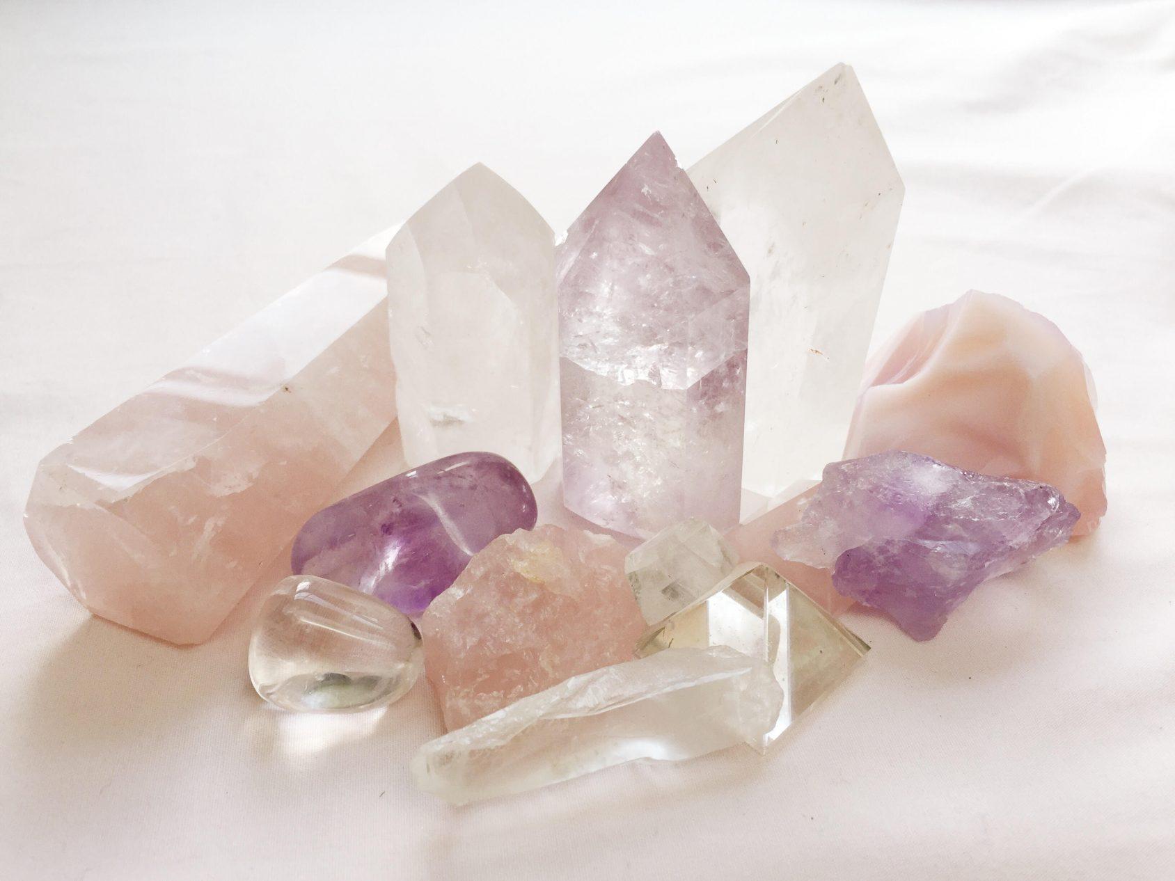 kristálygyógyászat, gyógyító kristályok, kristályterápia
