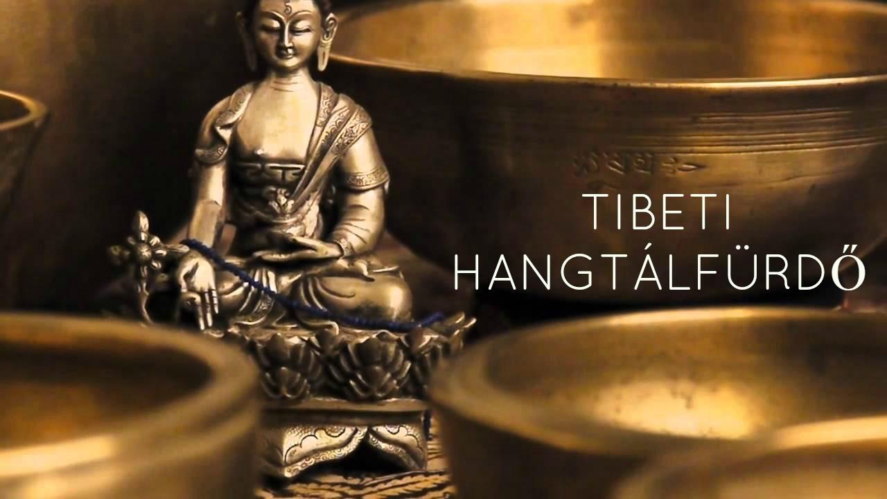 tibeti hangtálfürdő, harmónia, relaxálás, egységben az univerzummal