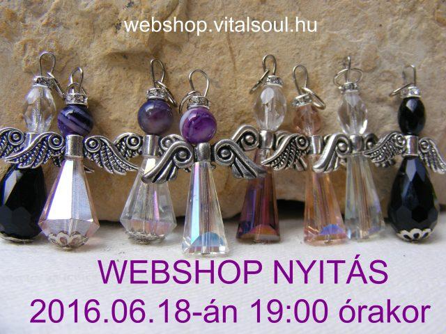 a22cccad5f Vital Soul webshop nyitás, angyalok, kristály ékszerek, angyali  kristályesszencia