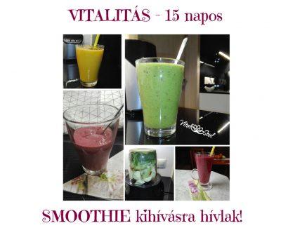 15 napos smoothie kihívás